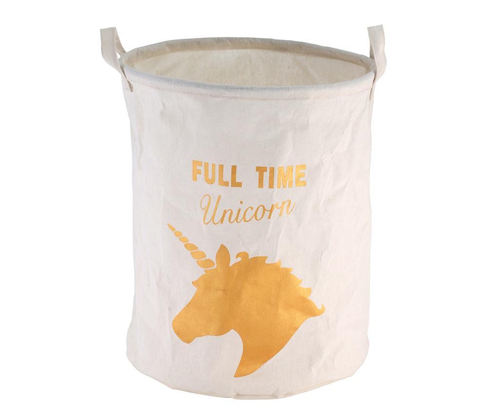Full Time Unicorn Ruháskosár