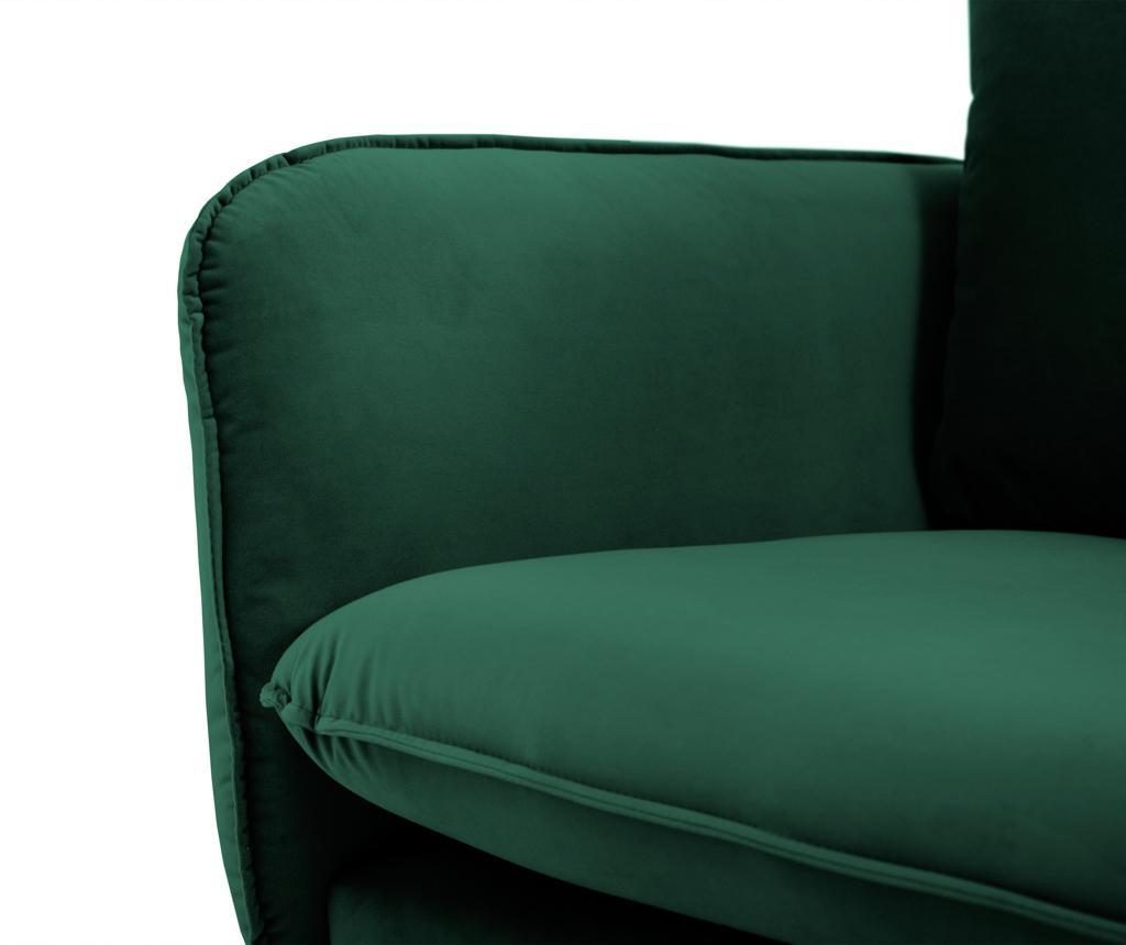 Canapea 3 locuri Vienna Bottle Green