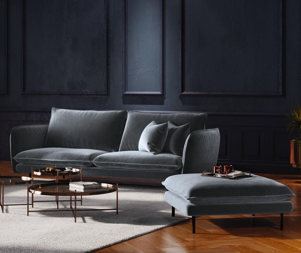 Canapea 4 locuri Vienna Grey