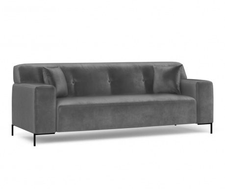 Canapea 3 locuri Still Dark Grey