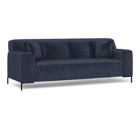 Canapea 3 locuri Still Dark Blue