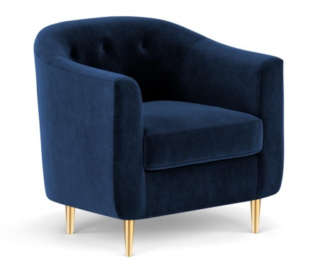 Fotelja Corde Royal Blue