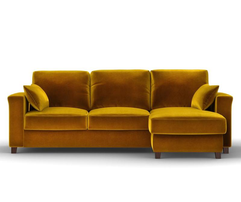 Reverzibilna in raztegljiva kotna sedežna garnitura Relax Gold
