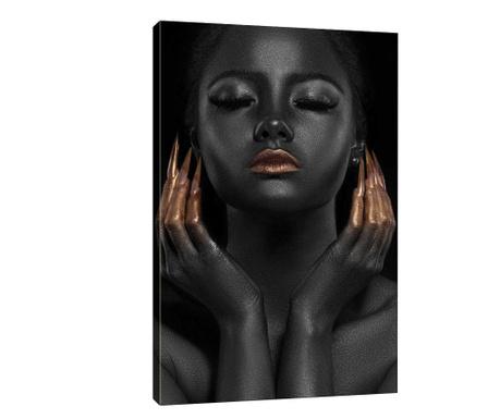 Tablou Black Vibe 50x70 cm