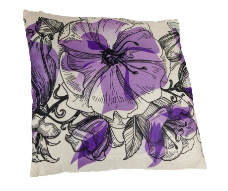 Perna decorativa Floralis Purple 45x45 cm