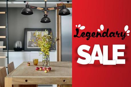 Legendary Sale: Svietidlá