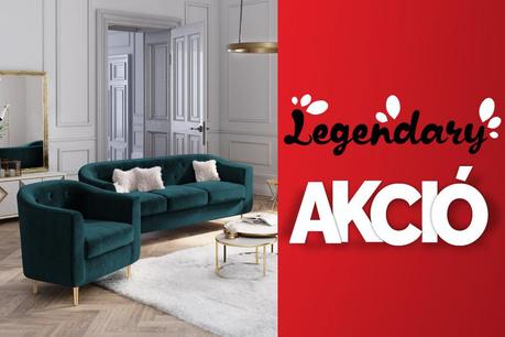 Legendás Akció: Kanapék és fotelek