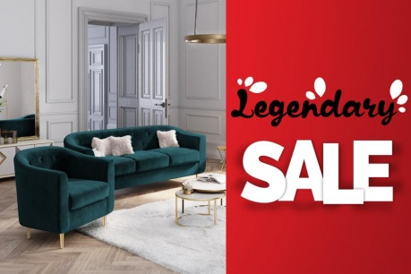 Legendary Sale: Pohovky a kreslá