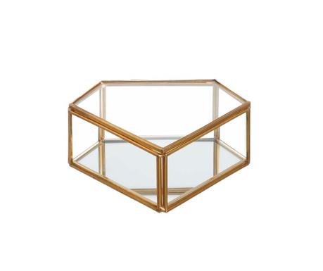 Kutija s poklopcem Diamond Gold