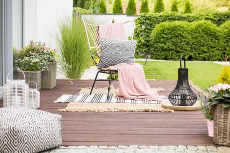 Relaxácia v záhrade
