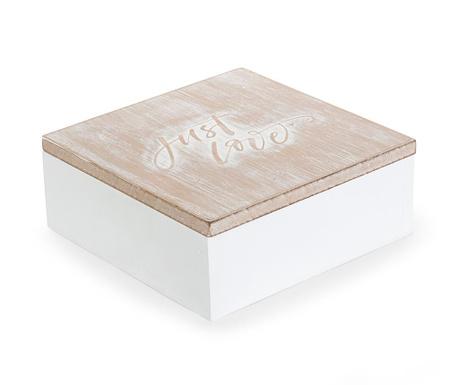e5687c8f6 Rýchle dodanie Dekoračná krabica s vekom Just Love