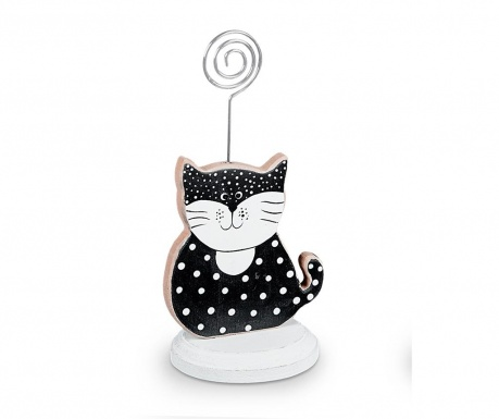Suport pentru card de masa Dotty Cat