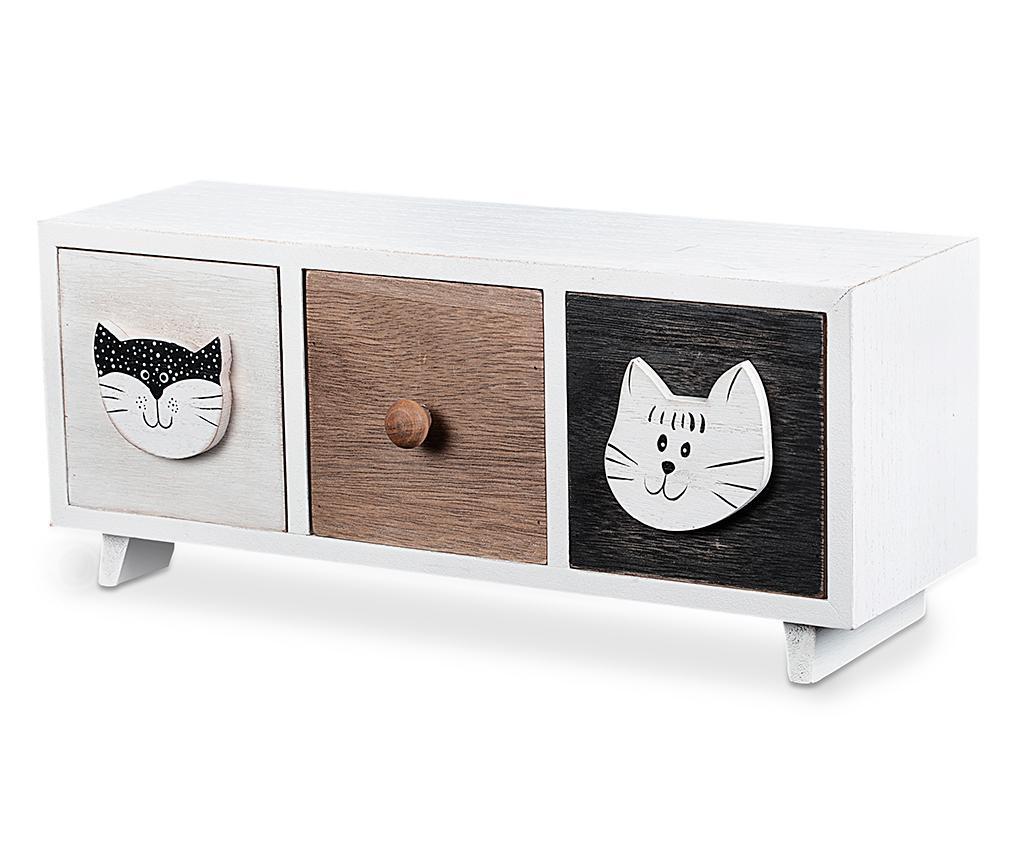 Cat Expression Ékszertartó doboz