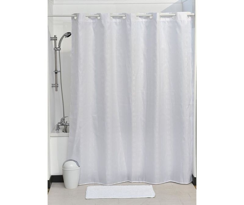 Zasłona prysznicowa Cubic White 180x200 cm