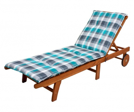 Poduszka na leżak ogrodowy Bristol Grey