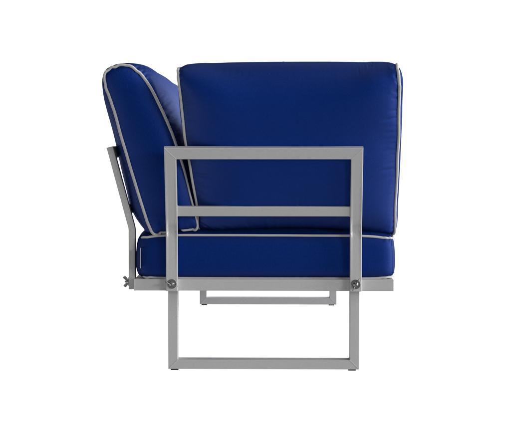 Sezlong pentru exterior Marco Royal Blue