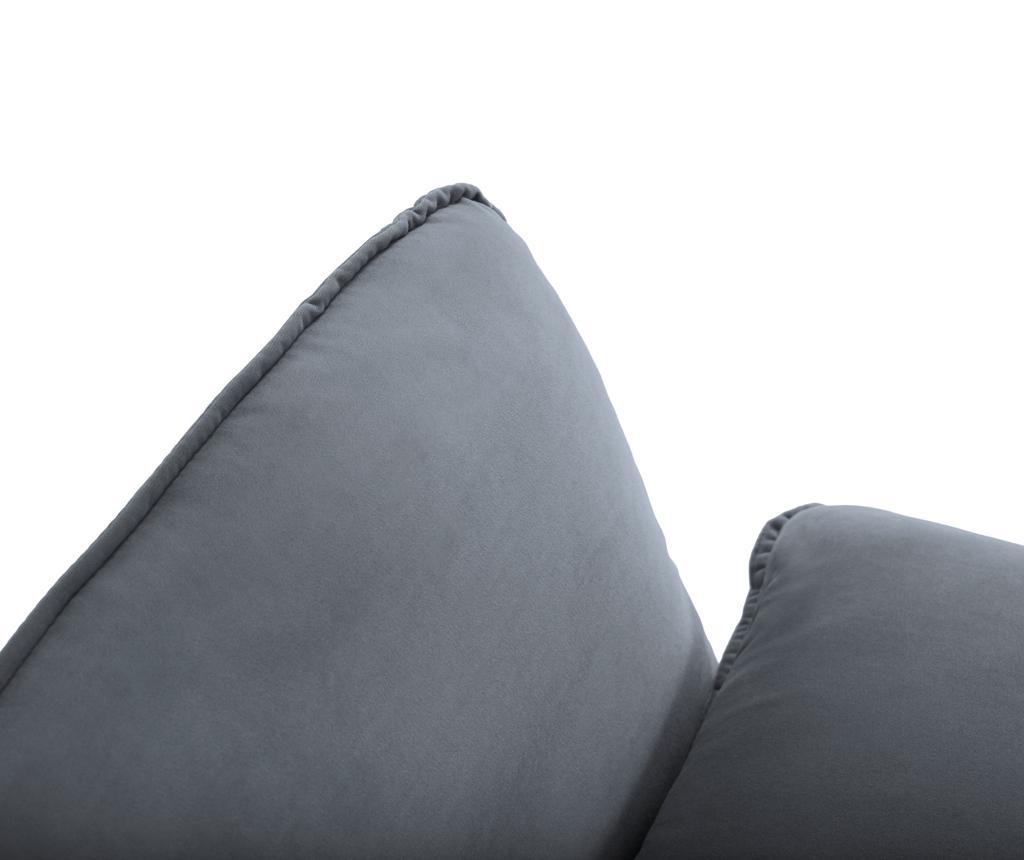Leva kotna sedežna garnitura Vienna Grey