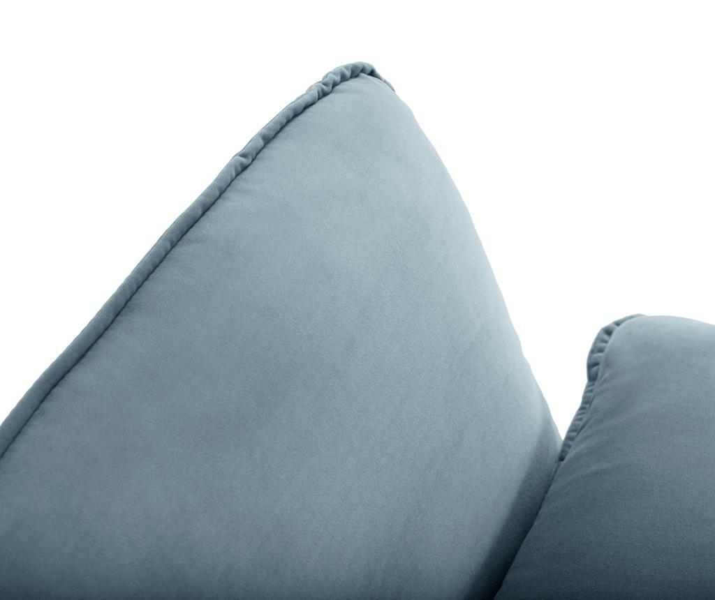 Desna kotna sedežna garnitura Vienna Light Blue
