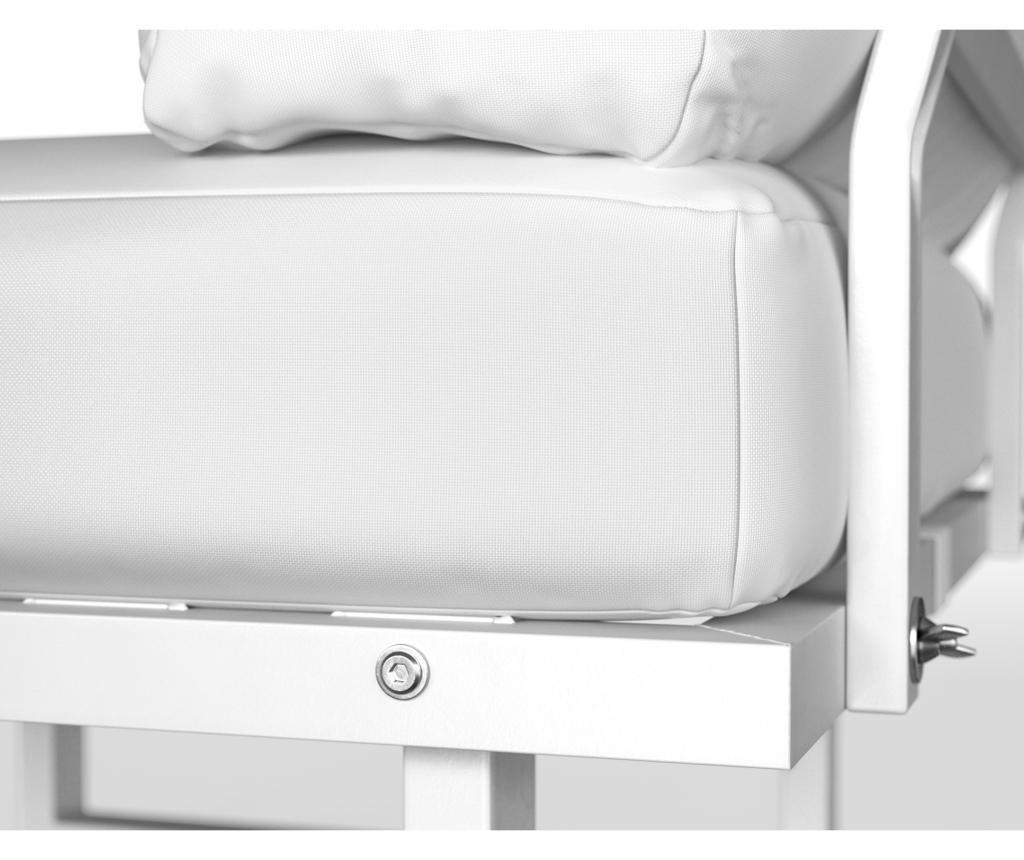 Stolica za vanjski prostor Samo White