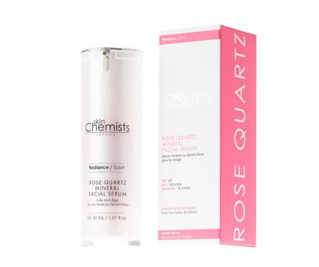 Ser mineral pentru fata Rose Quartz 30 ml