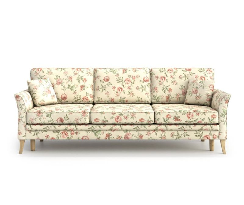 Juliett Rose Háromszemélyes kihúzható  kanapé