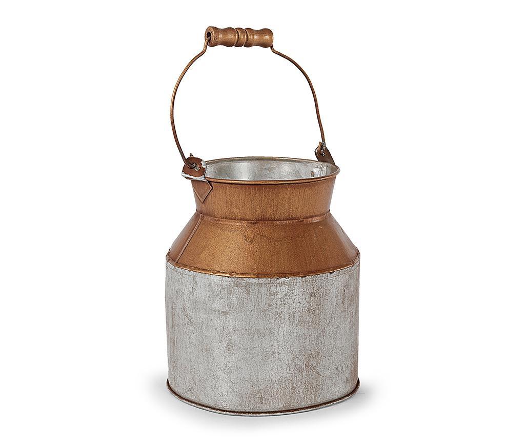 Vas decorativ cu capac Bucket