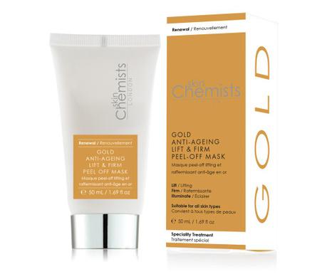 Peel-Off obrazna maska proti staranju kože SC Gold 50 ml