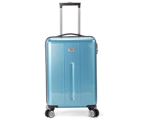 Kovček na kolesih Edgar Light Blue