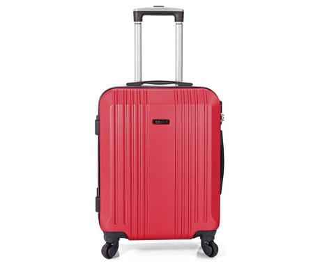 Kufřík na kolečkách Vance Red