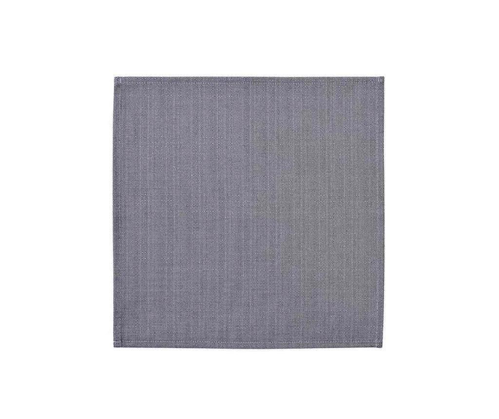 Basic Dark Blue 2 db Asztali szalvéta 40x40 cm