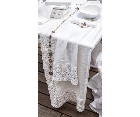 Nadstolnjak Crochet Lace 40x90 cm