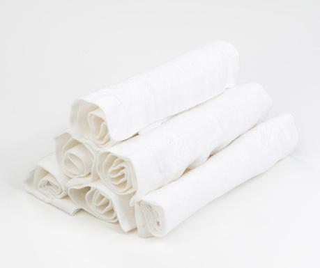 Σετ  6 πετσέτες φαγητού Liam 40x40 cm