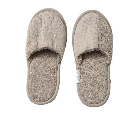 Papuci de casa Corinzio Cream