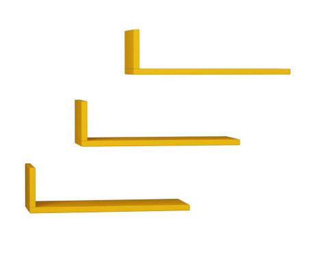 Model Mustard 3 db Fali polc