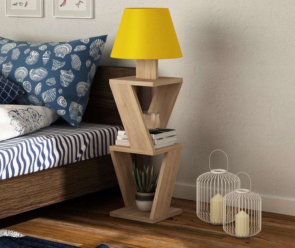 Samostojeća svjetiljka Matty Oak Yellow