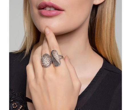 Комплект 2 пръстена Rosy