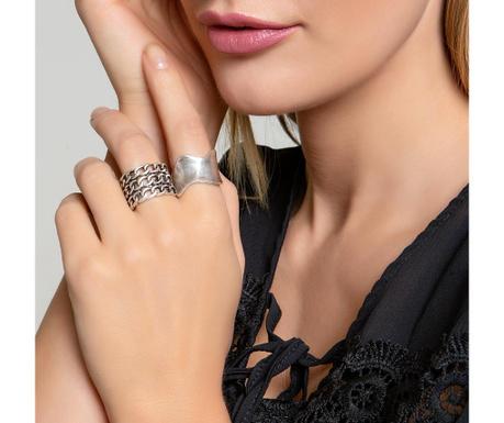 Σετ 2 δαχτυλίδια Vanessa