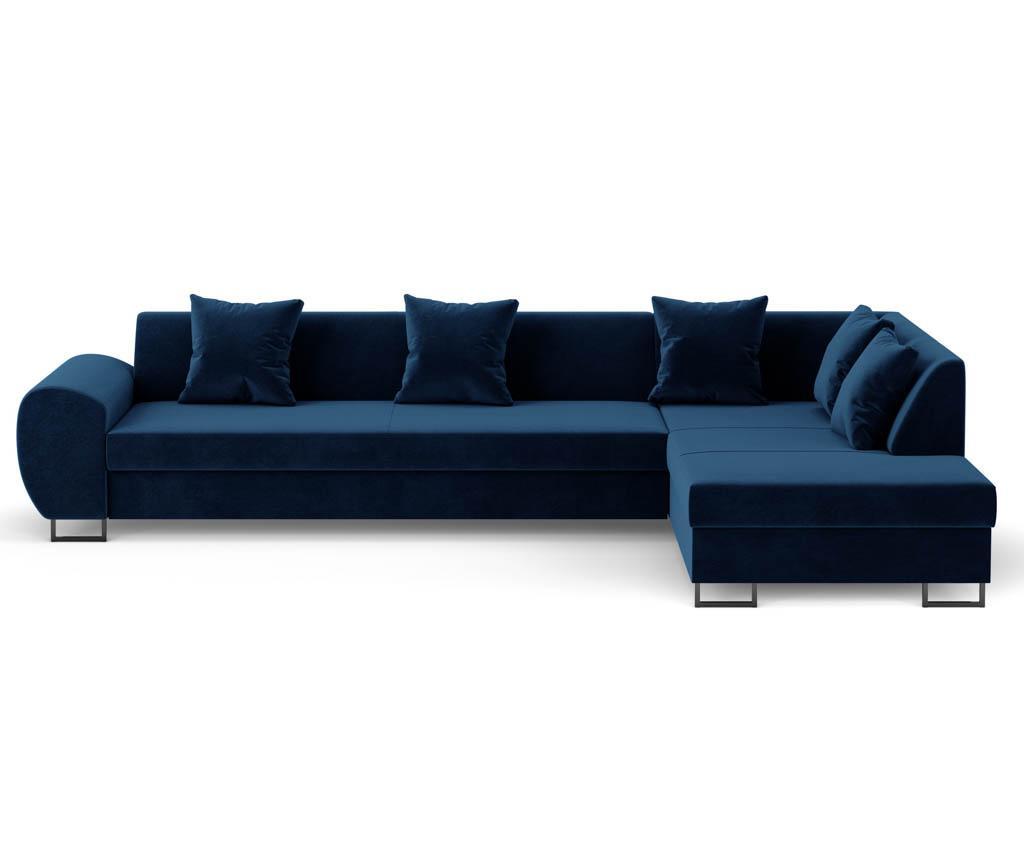 Rozkładany narożnik prawostronny Calmato Royal Blue