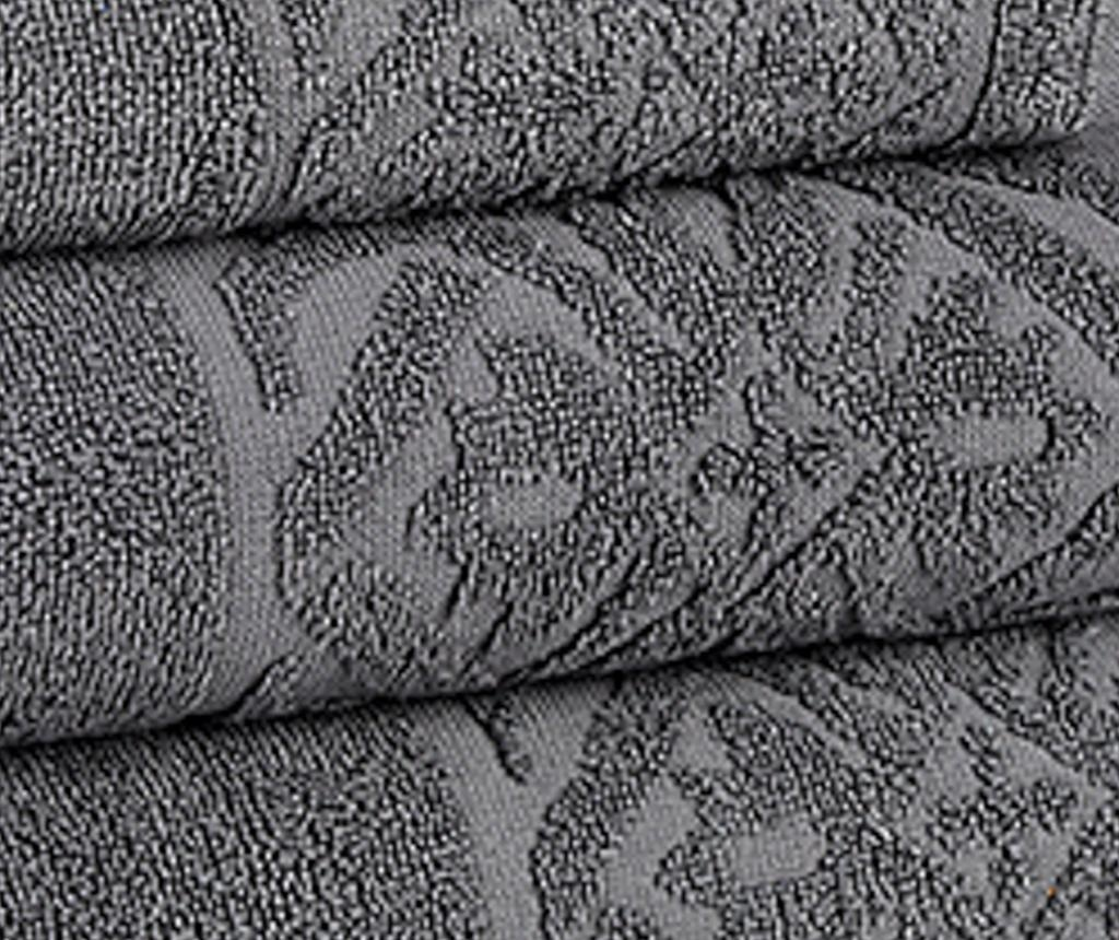 Porto Grey Fürdőszobai törölköző 30x50 cm