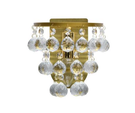 Zidna svjetiljka Drop Cluster Gold