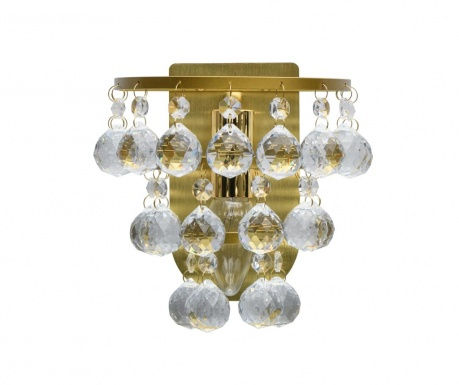 Stenska svetilka Drop Cluster Gold