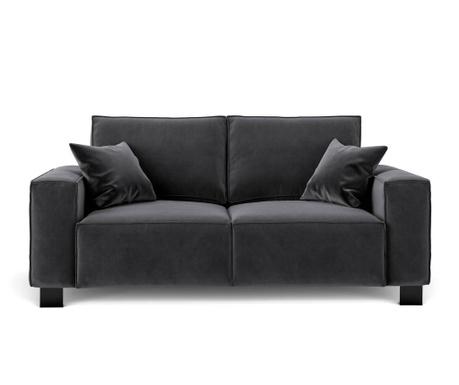 Dolce Dark Grey Kétszemélyes kanapé