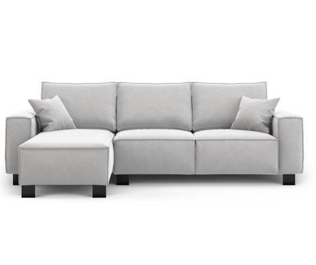 Modern Light Grey Baloldali sarokkanapé