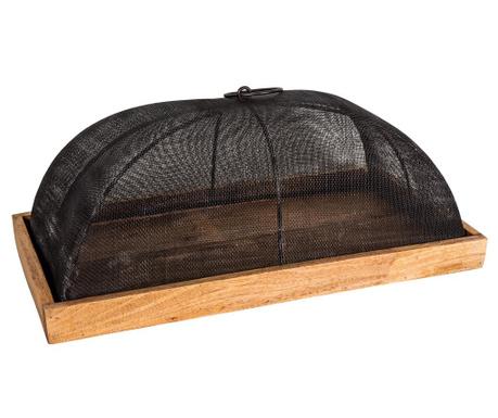 Servirni krožnik s kupolo Grillage