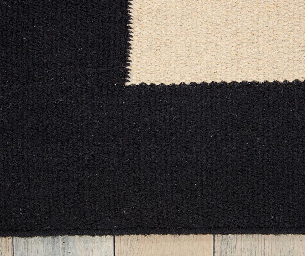 Килим Nashville Ivory Black 122x183 см