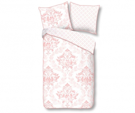 Posteljnina Single Sateen Zoja Pink Plus