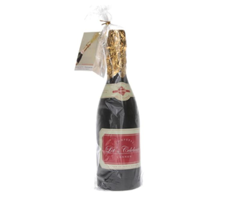 Top s konfeti Champagne Bottle