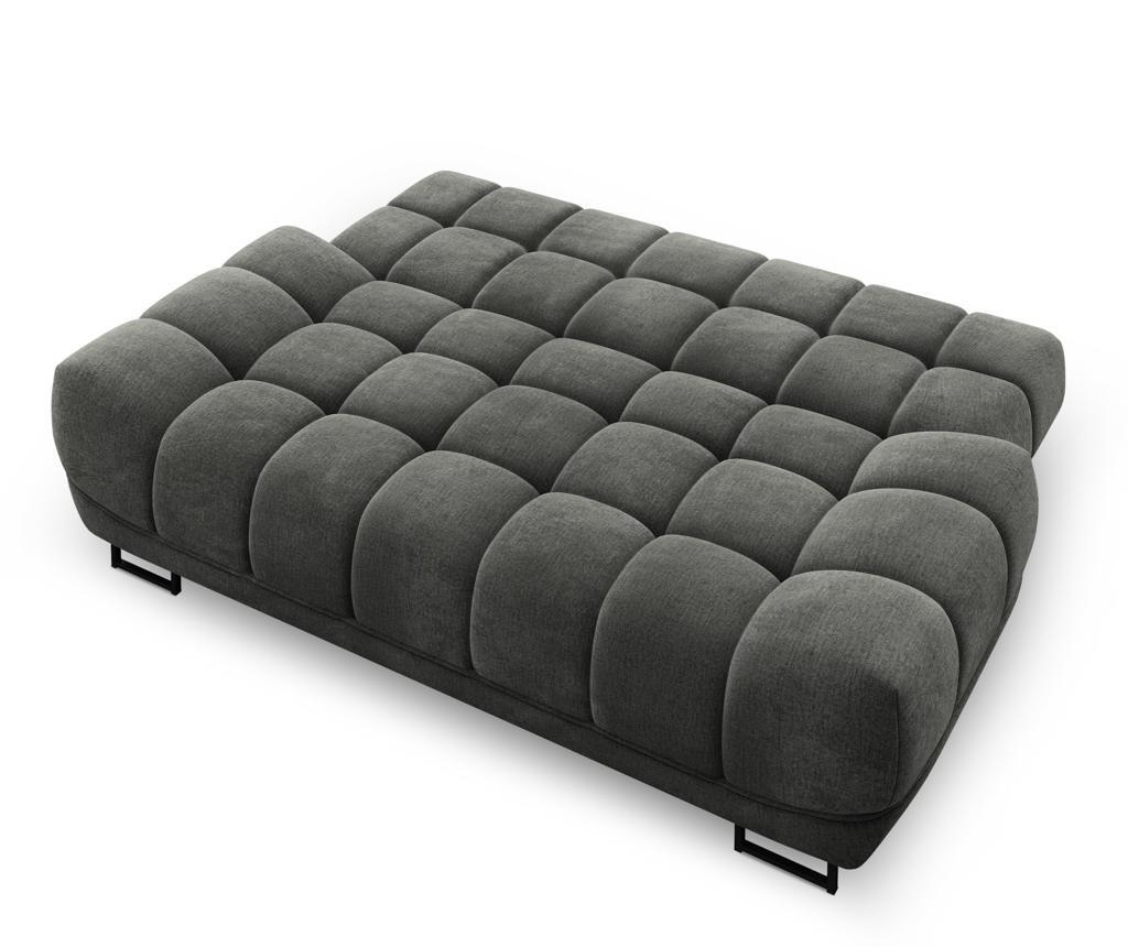 Canapea extensibila 3 locuri Cumulus Dark Grey