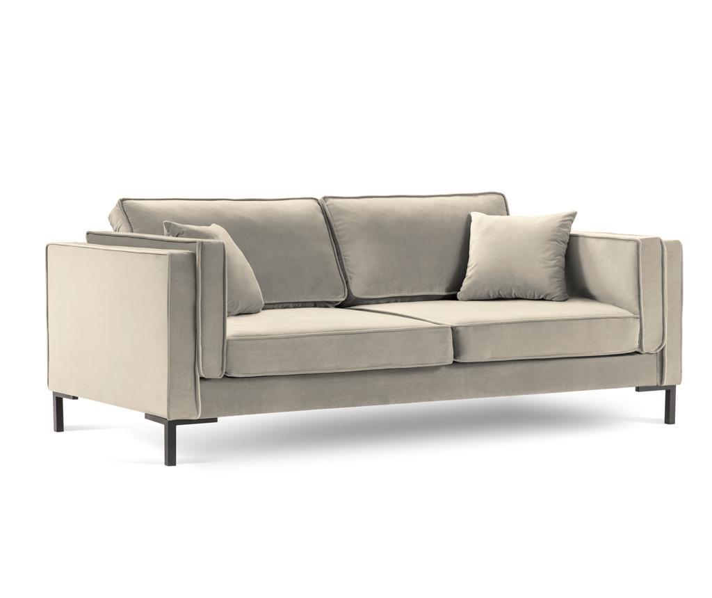 Luis Beige Háromszemélyes kanapé