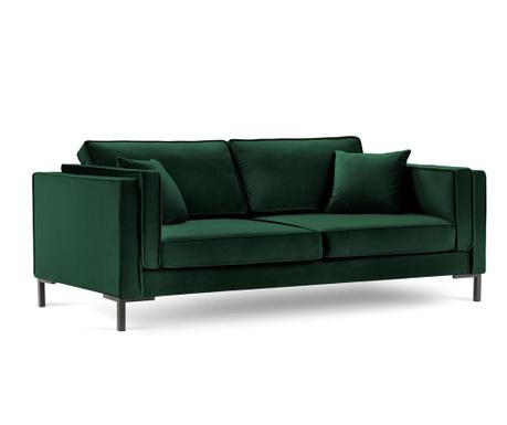 Sofa trosjed Luis Bottle Green